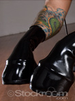 Latex Pony Boots