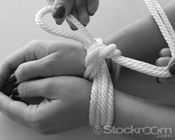 How To Tie A Double Rope Cuff - Step 4