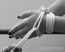 How To Tie A Double Rope Cuff - Step 6