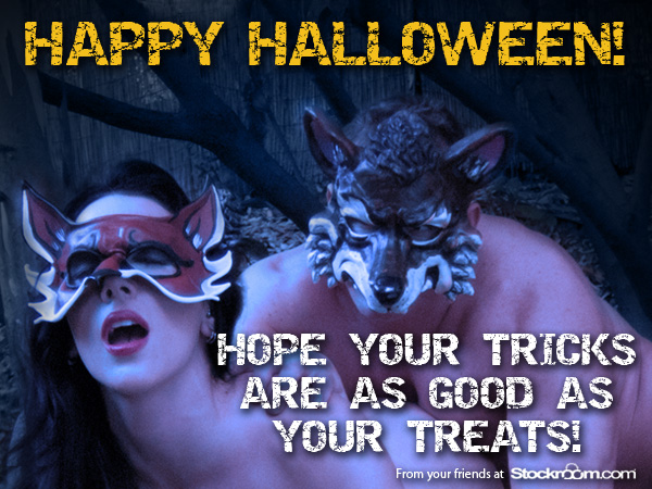 Hope your tricks are as good as your treats!