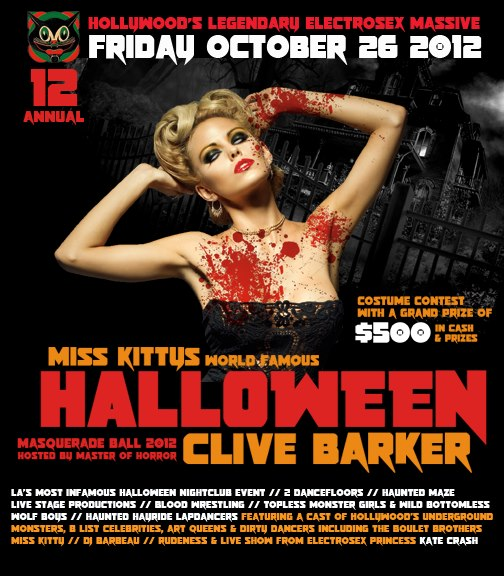 Miss Kitty's World Famous Halloween Masquerade Ball 2012