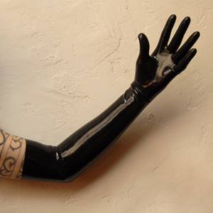 Opera Length Latex Gloves