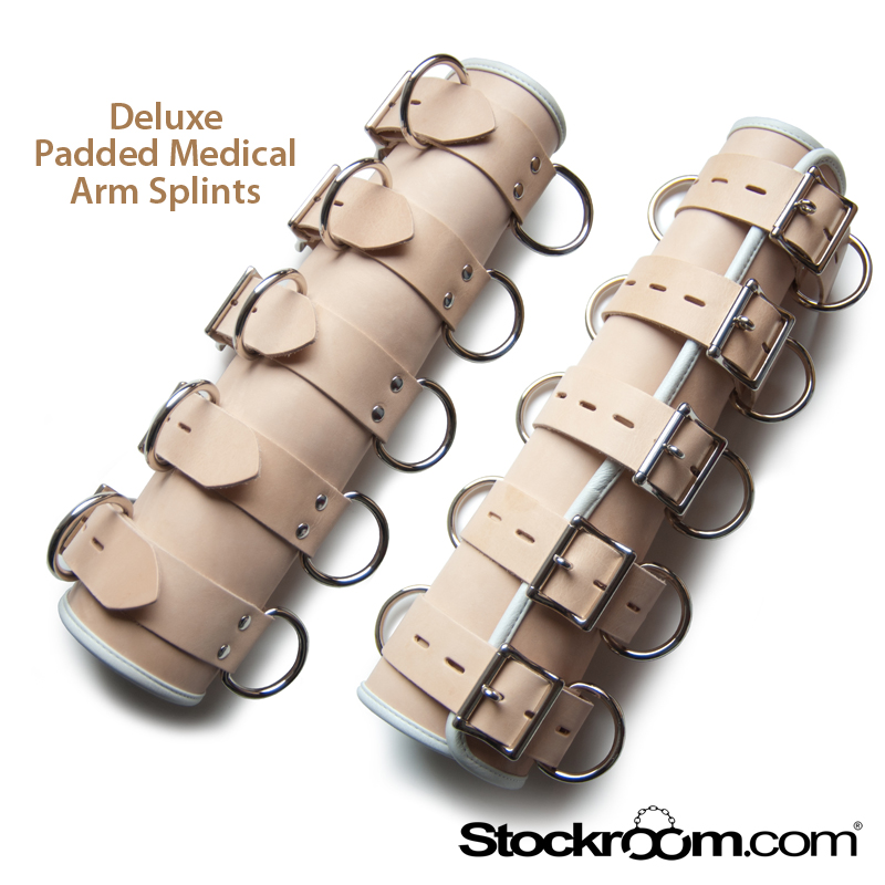 Stockroom Deluxe Padded Medical Arm Splints