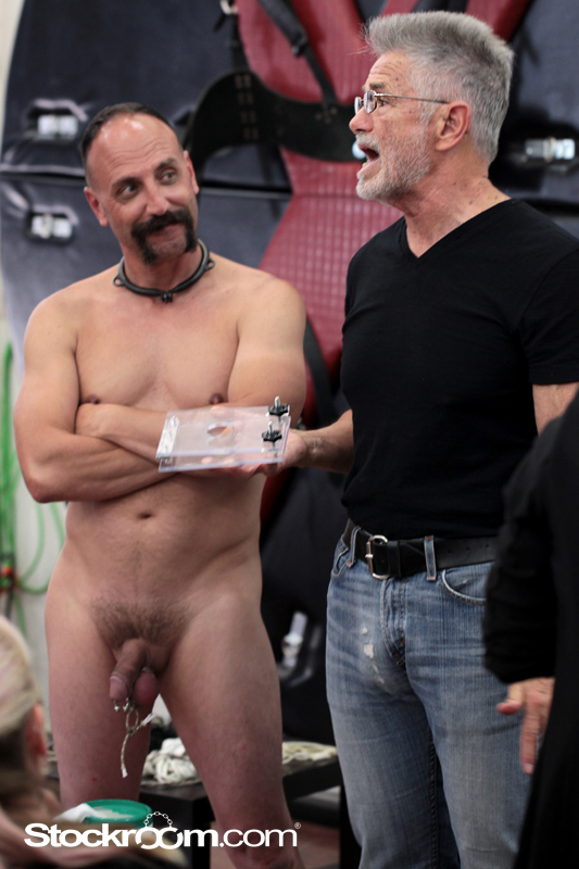 Mr Dawson and the Stockroom University Cock and Ball Torture Class