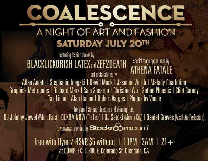 Coalescence BlackLickorish Los Angeles