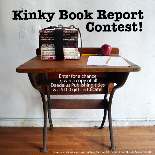 Stockroom Kinky Book Report Contest