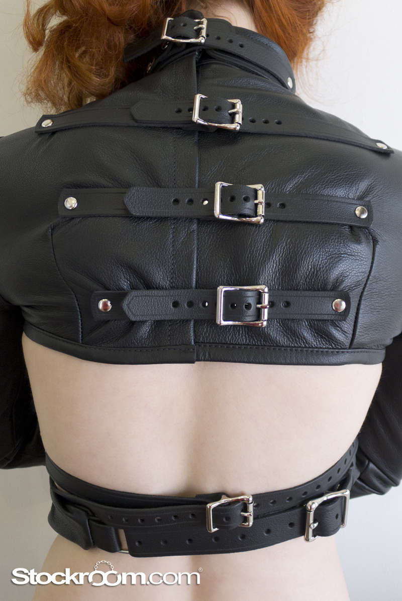 Stockroom Leather Bolero Straitjacket