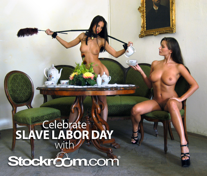 Stockroom Slave Labor Day Contest
