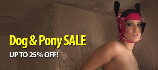 Dog and Pony Sale - 25% off Animal Roleplay gear until August 7