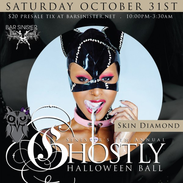 Skin Diamond Bar Sinister Ghostly Halloween Ball
