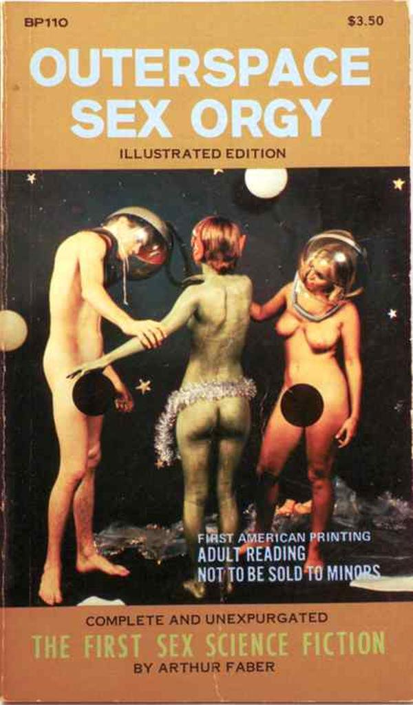 Outerspace Sex Orgy Arthur Faber Paperback