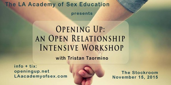 Tristan Taormino - Opening Up Workshop at Stockroom, Nov. 15