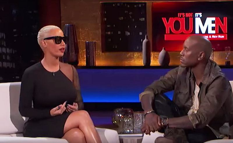 "Amber Rose and Tyrese on ""It's Not You, It's Men."""